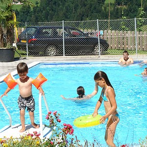 Unser beheizter Swimming pool